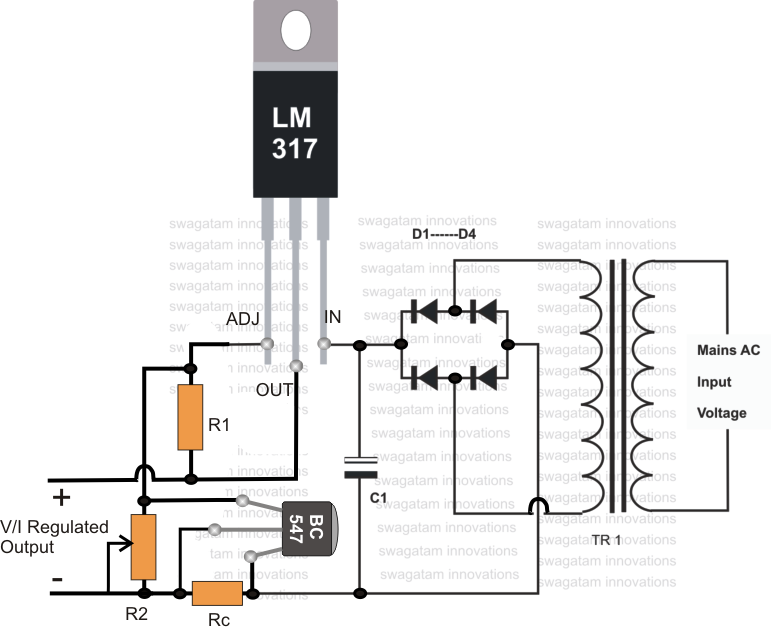 automatic car battery charger schematic diagram images pics photos 12 volt battery charger circuit using lm301a and lm350
