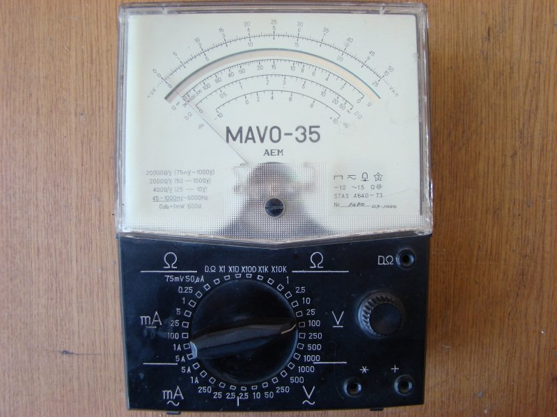 Multimetrul MAVO 35