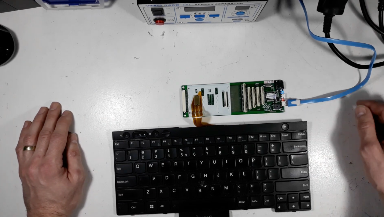 Cum se testeaza o tastatura de laptop